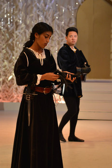 As Benvolio in Romeo and Juliet