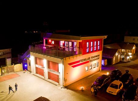 Übergabe des neuen Feuerwehrgerätehauses in Teschendorf