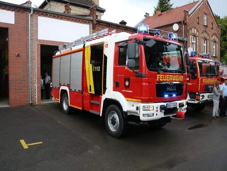 Neues Hilfeleistungslöschfahrzeug für Kremmener Feuerwehr