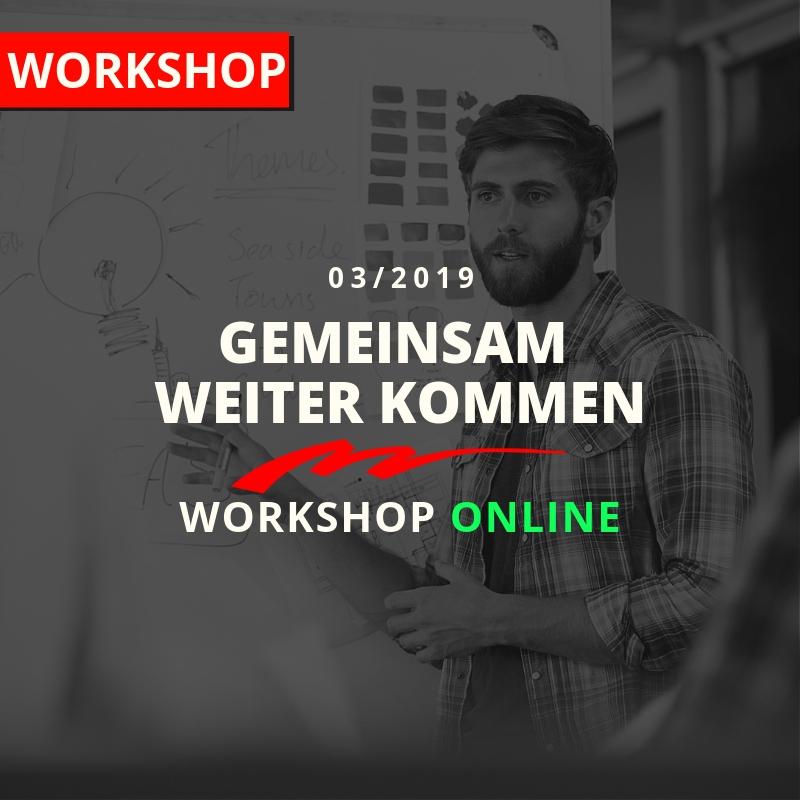 Kachel-Workshop Gemeinsam weiter kommen.