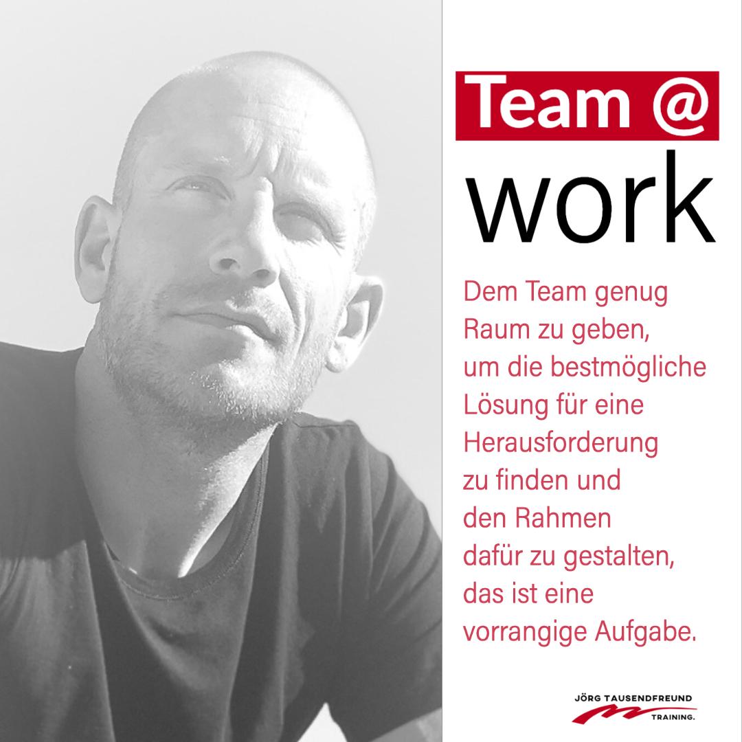 team at work