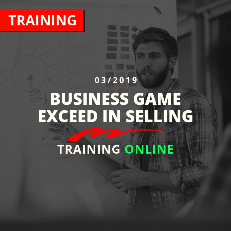 Kachel-Business Game Exceed in Selling