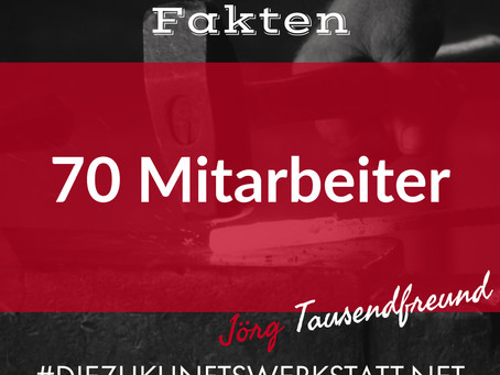 70 Mitarbeiter
