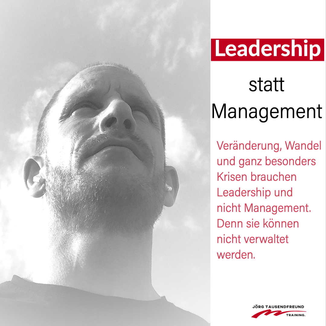Leadership statt Wandel