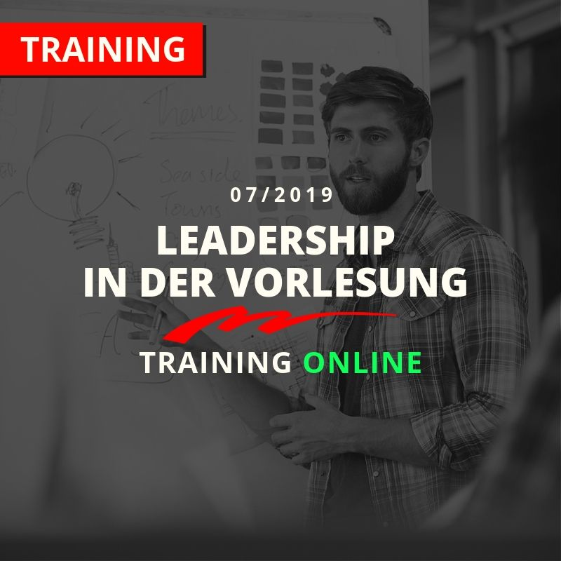 Kachel-Leadership in der Vorlesung