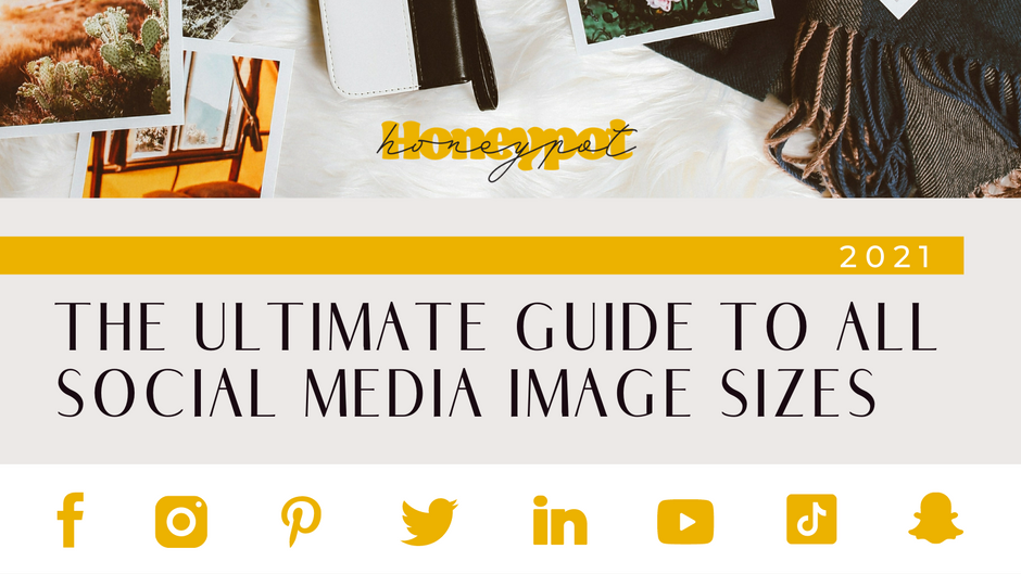 2021 Ultimate Guide to Social Media Image Sizes