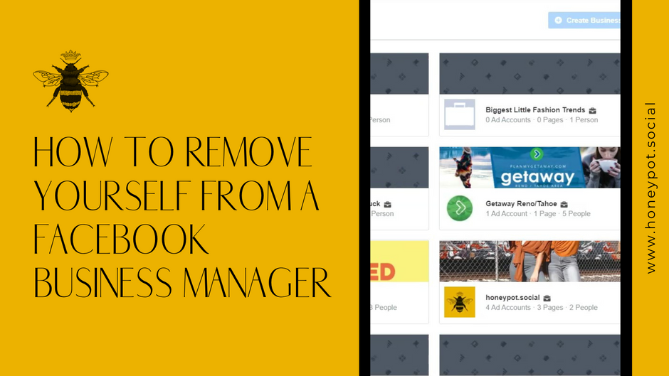 How to Remove Yourself from a Facebook Business Manager
