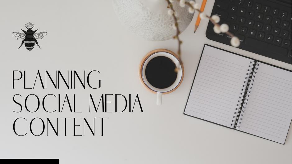 Planning Social Media Content