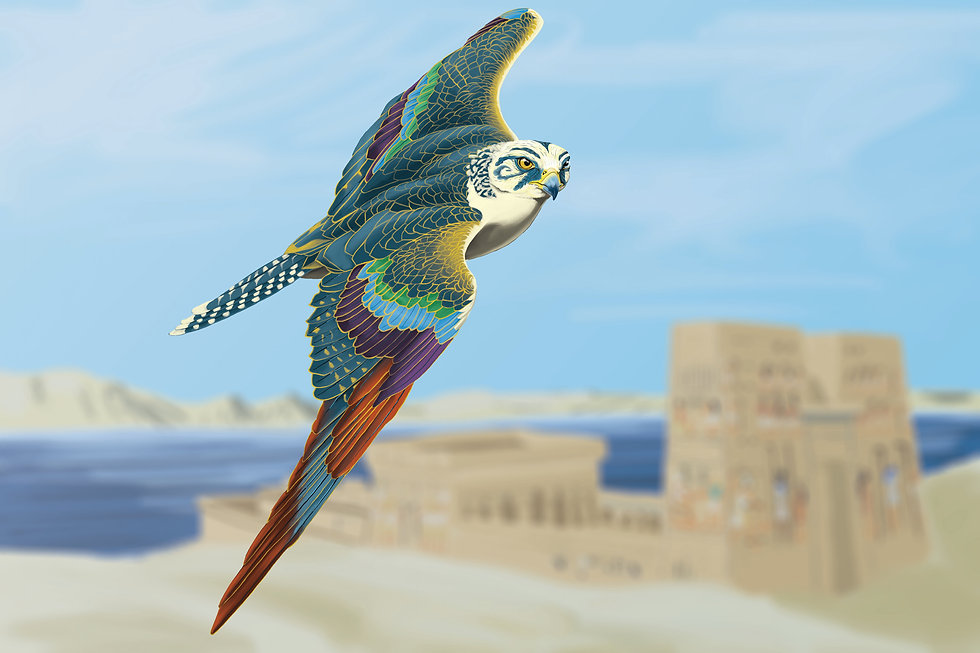 Egyptia Horus Falcon