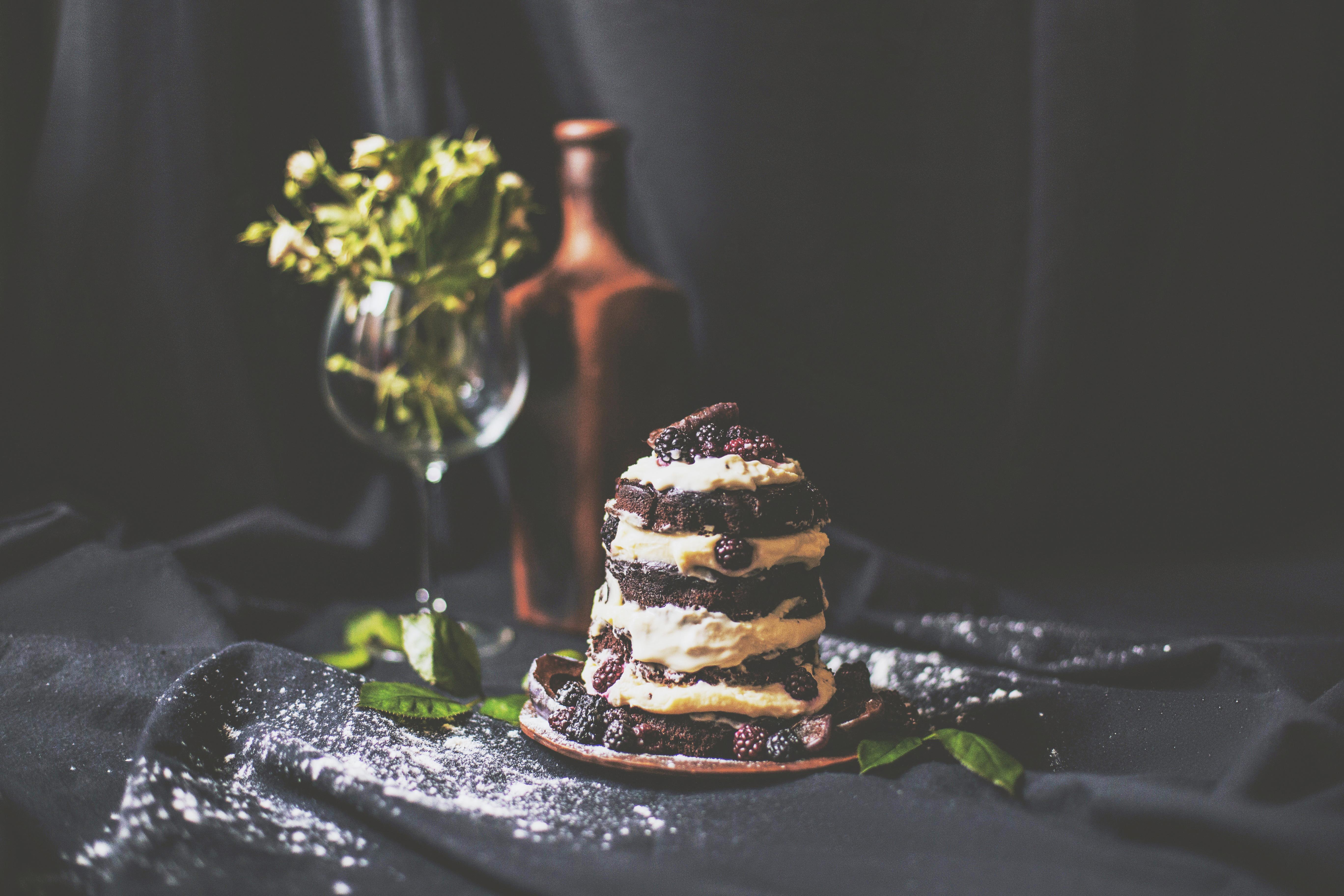 Gâteau aux bleuets