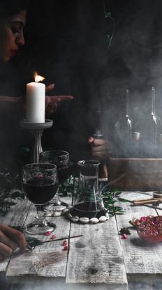 Dark Mood Food Photography