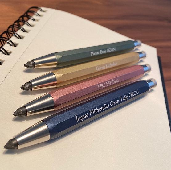 İsminize Özel 5.6mm Eskiz Kalemi - Automatic Collection