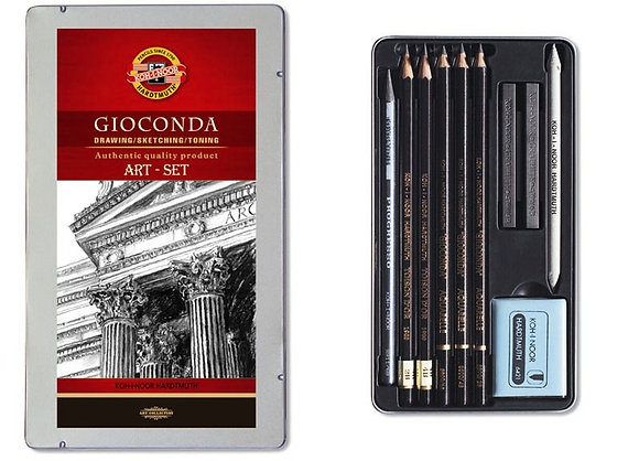 Gioconda Mini Eskiz Seti Black