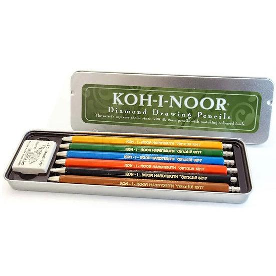Koh-i Noor 2.0 mm 6 Renk Portmin Versatil Kalem Seti 5217