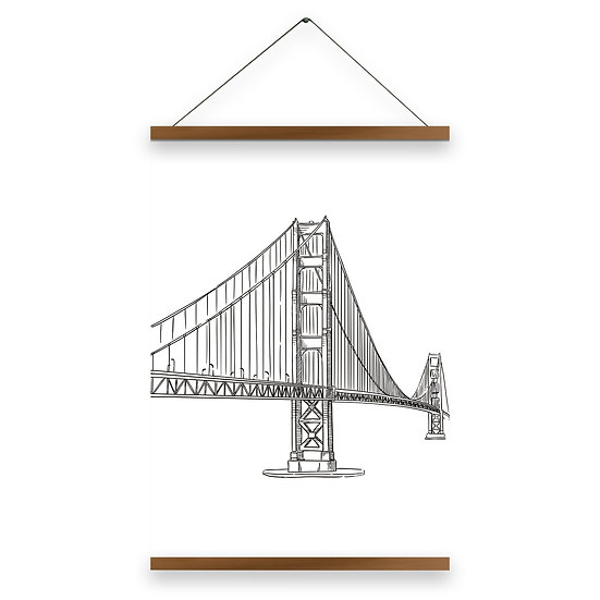 Golden Gate Poster - pA1005