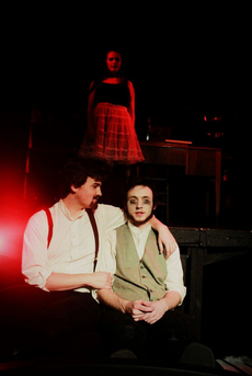 Player 6 in Nevermore: the Imaginary Life and Mysterious Death of Edgar Allan Poe - Pipe Dreams Studio Theatre