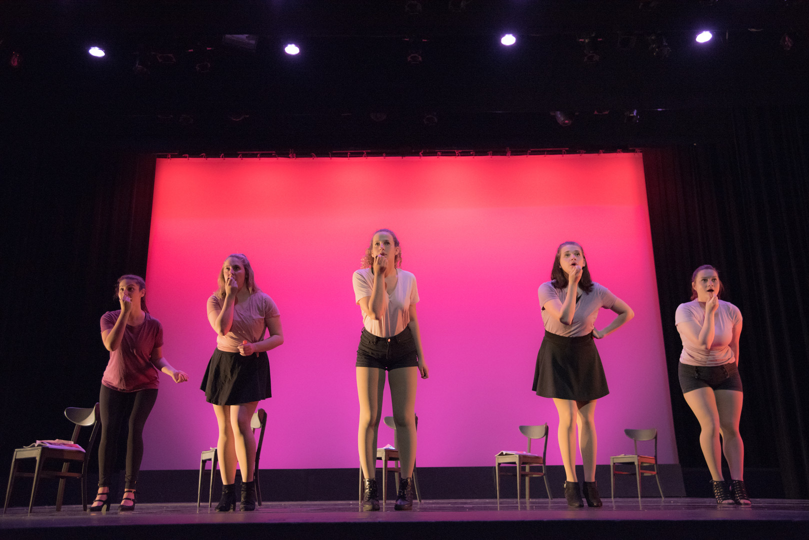 Solstice: A Concert of Dance (second from right in skirt) - Millikin University