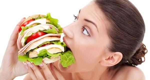 Você tem muita fome no final do dia?