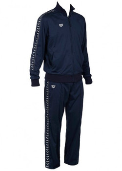 Arena Throttle Tracksuit Navy - FRONT