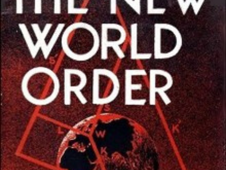 The new world order - Not too far from here.