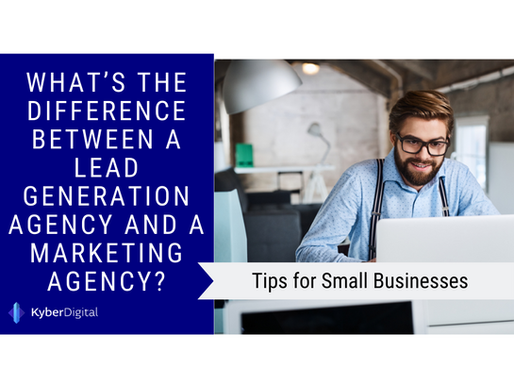What's the Difference Between a Lead Generation Agency and a Marketing Agency?