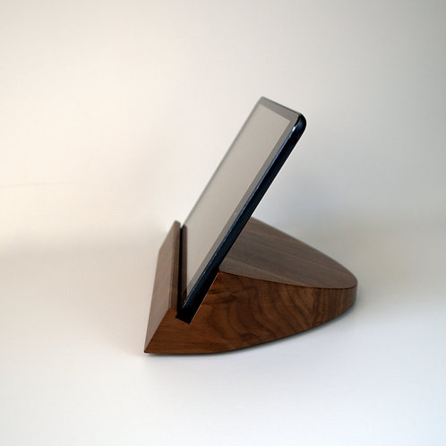 Solid Walnut Tablet Stand