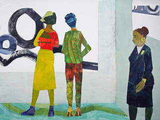 Bring Your Own Stories: solo exhibit of paintings by Joan Green