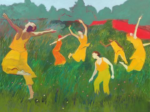 Dancers in a Meadow