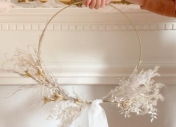 Minimalist Dried Wreath