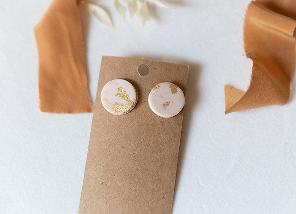 Studs: Blush & Gold Blend