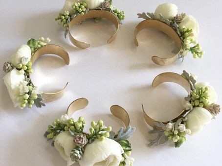 Upping the Ante on Wrist Corsages