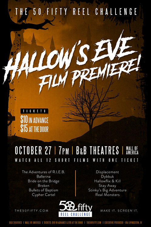 """INTEREST IN ANOTHER HALLOW's EVE - """"A"""" PREMIERE @ 9:00PM"""