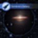 Space Board Games card Sombrero Galaxy