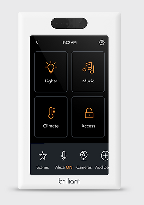 Brilliant 1-Gang Smart Light Switch