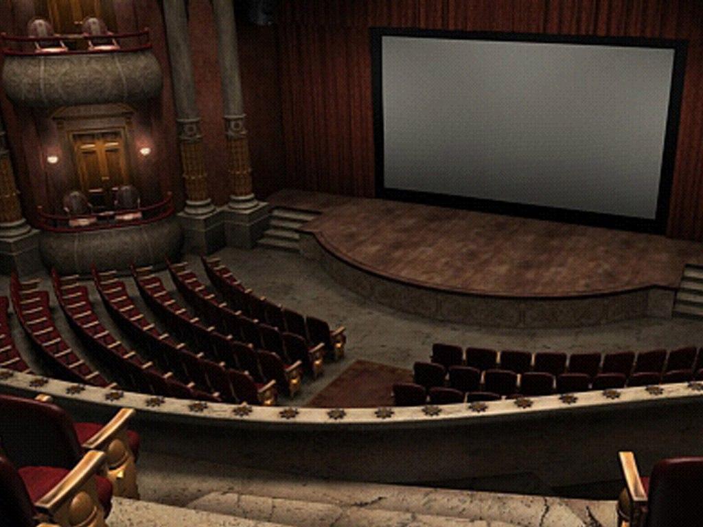 Похищение в театре
