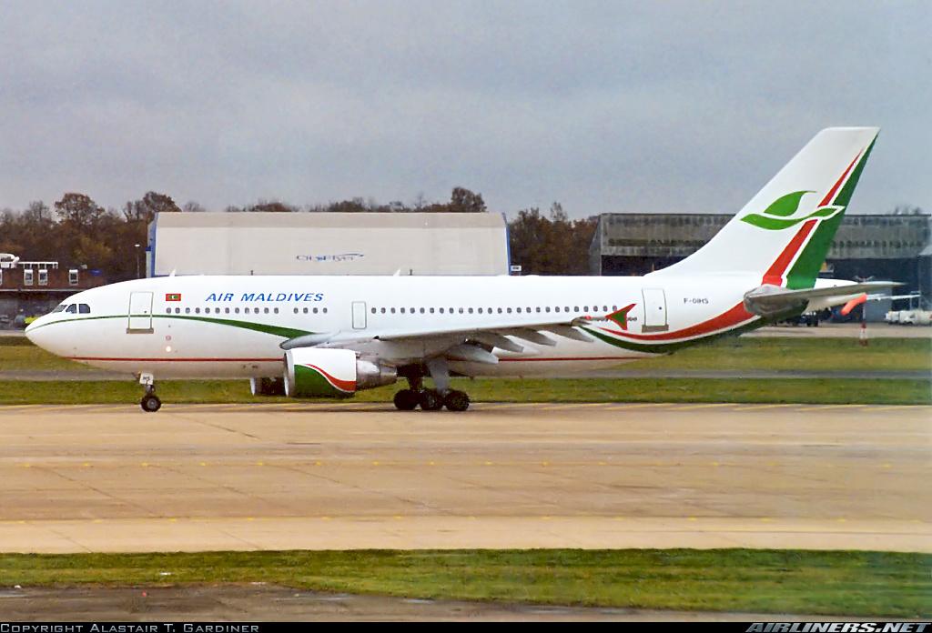 Airbus A310-324/ET London - Gatwick (LGW / EGKK) England, United Kingdom - November 24, 1999