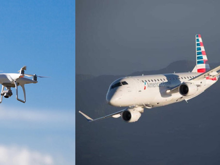 Incident: Envoy Embraer E175 Strikes A Drone During Departure