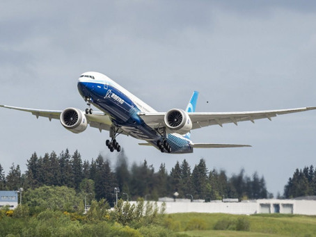 One year since Boeing 777X's maiden flight