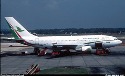 Airbus A310-222  Thiruvananthapuram (Trivandrum) (TRV / VOTV) India - November 1998