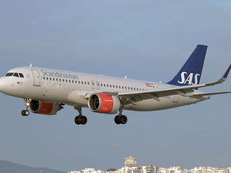 Two Scandinavian Airlines A320's Embarks On A 9 Hour Journey To Pakistan On An Evacuation Flight