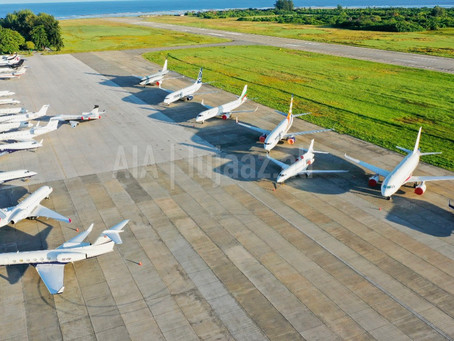 After 5 years Gan International Airport breaks record for most private jets parked at the airport.