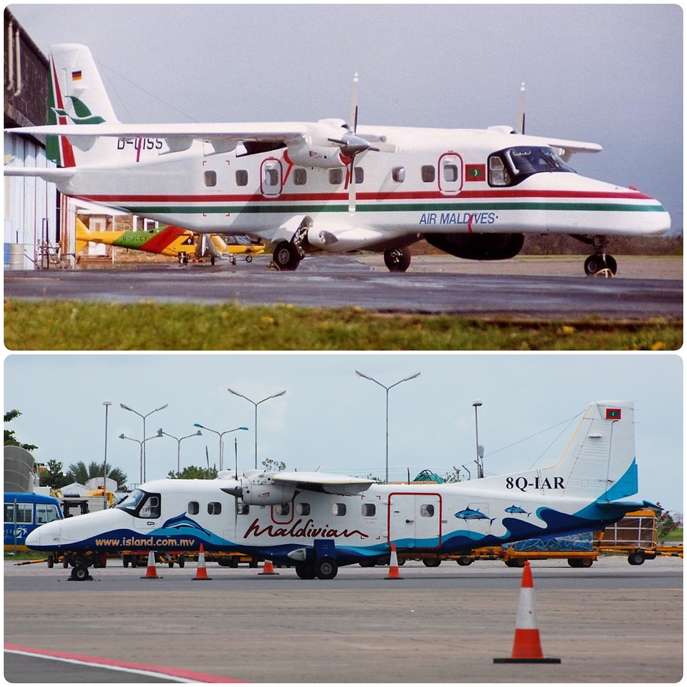 Dornier Do228 with Air Maldives & Maldivian