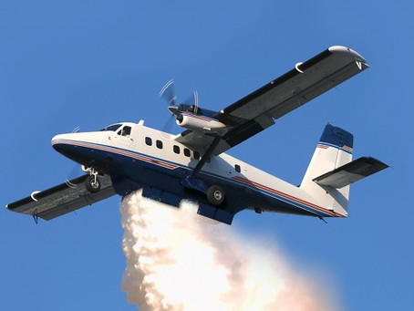 Viking Air And PAL Aerospace Sign DHC6 Twin Otter Aerial Fire Fighting Contract