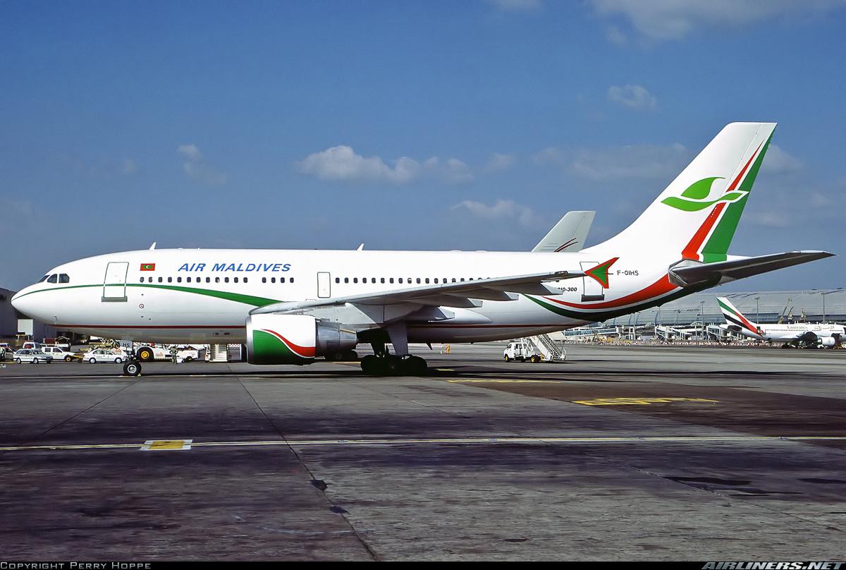 Airbus A310-324/ET Dubai - International (DXB / OMDB) UAE - November 30, 1999