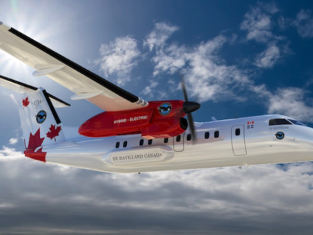 Pratt & Whitney To Test Hybrid-electric Propulsion Technology In A Dash 8