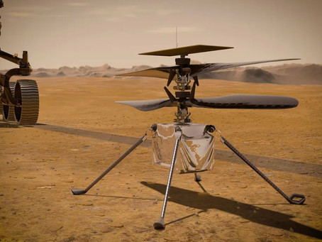 NASA's Ingenuity makes history as the first aircraft to achieve powered flight on another planet
