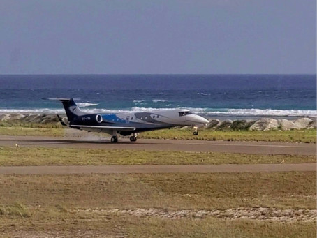 First International Jet Operation takes place at Dhaalu Airport