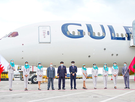 Gulf Air resumes flights services to the Maldives
