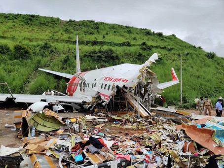 Air India Express COVID19 repatriation Flight 1344 skids off the runway. Here's what we know so far.