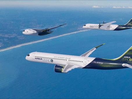 Airbus plans to go zero emission by 2035 with three concept aircraft